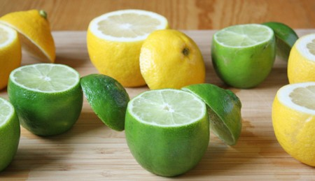 خوردن پوست لیمو ترش , خوردن عسل و لیمو ترش